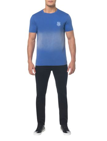 Camiseta-Ckj-Mc-Est-New-Youth---Azul-Medio---P