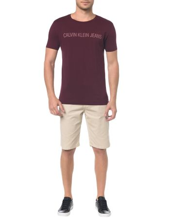 Camiseta-Ckj-Mc-Logo---Bordo---PP