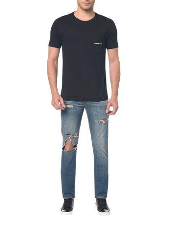 Calça Jeans Five Pockets Slim Azul · comprar. Calvin Klein Jeans 91e9a0e4207