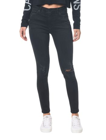 Calca-Jeans-Five-Pockets-Super-Skinny---Preto---34