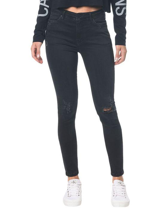 Calca-Jeans-Five-Pockets-Super-Skinny---Preto---34