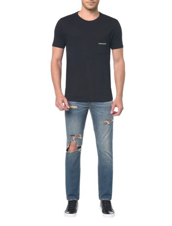 Camiseta-Ckj-Mc-Bolso-Peito---Preto---PP