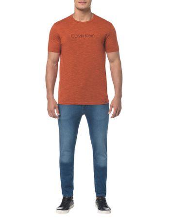 Camiseta-Regular-Basica-Flame-Mescla---Laranja---PP