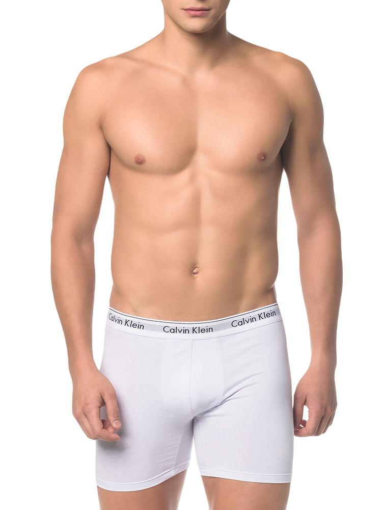 0703a41958cacc Cueca Boxer Calvin Klein Underwear Modern Cotton Branco