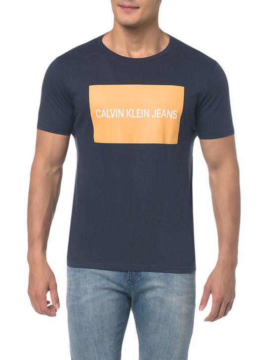 Camiseta-Ckj-Mc-Est-Logo-Retangulo---Marinho---PP