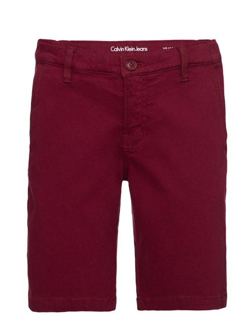 Bermuda Color Modelo Chino Bordo