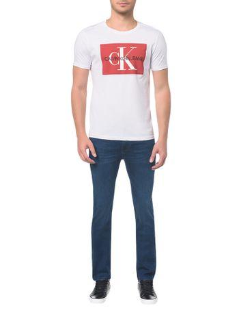 Calca-Jeans-Five-Pockets-Slim-Marinho-