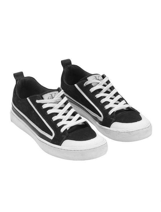 Tenis-Ckj-Couro-Cano-Baixo-Skate-Sneaker-Preto-