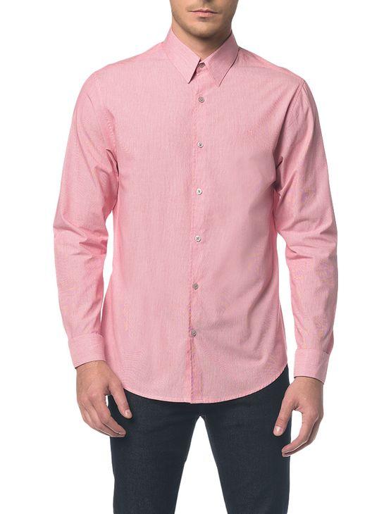 Camisa-Regular-Ml-Micro-Listrad-Vermelho-