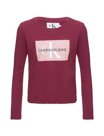 Blusa-M-L-Ckj-Logo-Monogram-Box-Bordo-