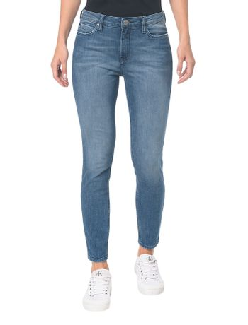 Calca-Jeans-Five-Pockets-Super-Skinny---Azul-Medio---34