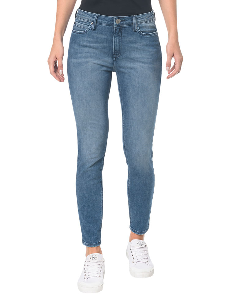 bfafb97ae Calvin Klein · Feminino · Roupas · Jeans · Calca-Jeans-Five-Pockets-Super- Skinny---Azul-Medio---34