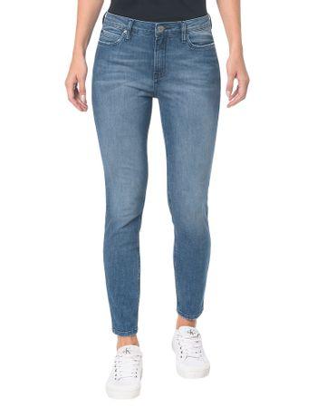 Calca-Jeans-Five-Pockets-Super-Skinny---Azul-Medio---36