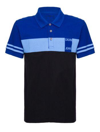 Polo-Ckj-Mc-Faixa-Peito---Azul-Medio---2