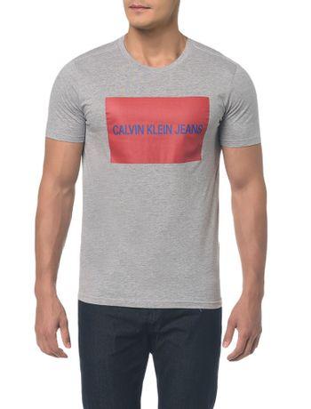 Camiseta-Ckj-Mc-Est-Logo-Retangulo---Mescla---PP