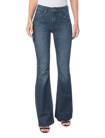 Calca-Jeans-Five-Pck-Mid-Rise-Flare---Marinho---34