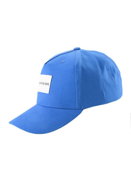 Bone Ckj Masc Basico Etiqueta - Azul Royal