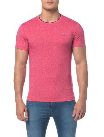 Camiseta-Slim-Gola-Retilinea-Mouline---Rosa-Escuro---PP
