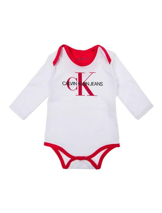 7e028dfe4 Body Ml Ckj Silk Logo - Branco 2 | Calvin Klein - Calvin Klein