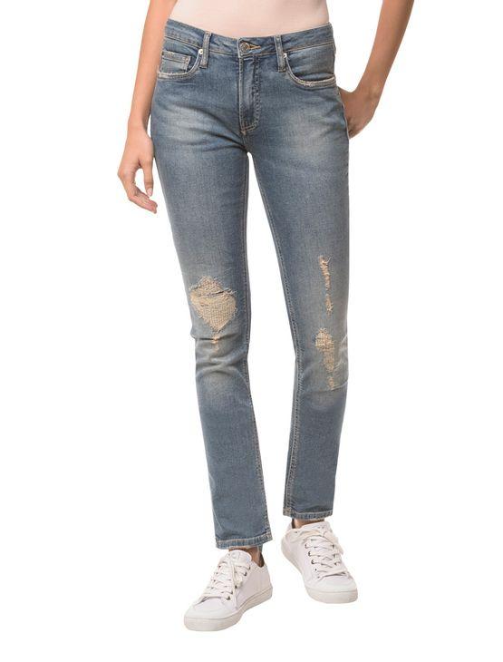 Calca-Jeans-Five-Pockets-Mid-Rise-Slim----Azul-Claro---34