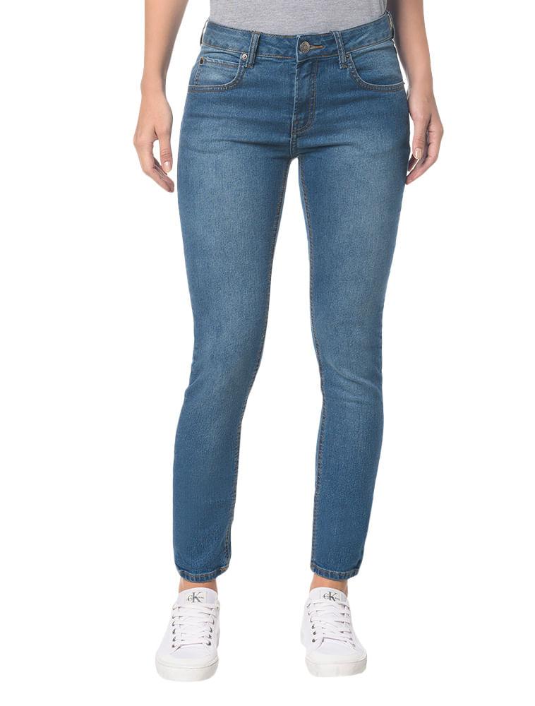 b24c36f7f Calvin Klein · Feminino · Roupas · Jeans · Calca-Jeans-Five-Pock-Super- Skinny----Azul-Medio---34