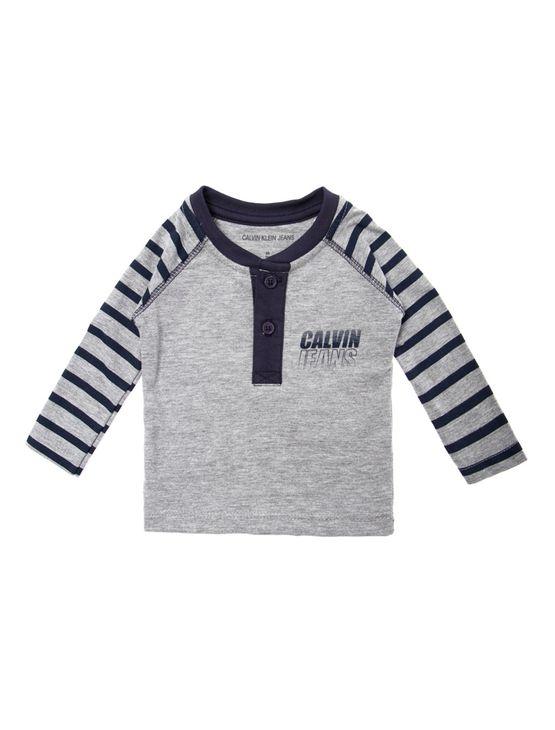 Blusa-M-L-Ckj-Bebe-Silk-Calvin-Jeans----Mescla-------------------------------------12M