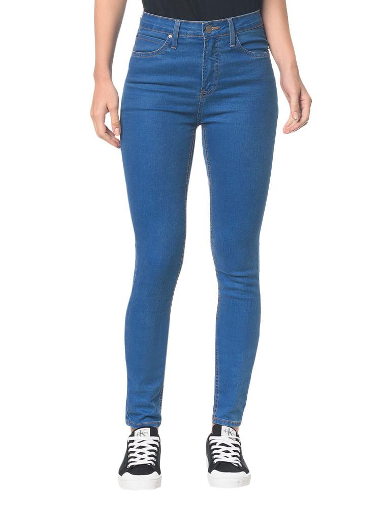 ca9ee6347 Calvin Klein · Feminino · Roupas · Jeans · Calca-Jeans-Five-Pock-High-Rise- Skinny----Azul-Medio---34