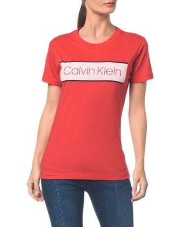 Blusa-C-Logo-Tarja-Clavin-Klein----Vermelho---M