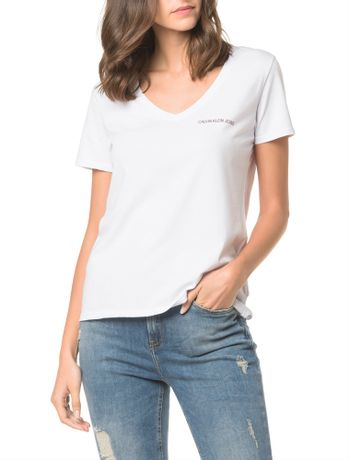 f048052791 Blusas Femininas. Camisetas e regatas - Calvin Klein