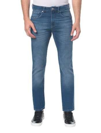 Calca-Jeans-Five-Pockets-Straight----Azul-Medio---38