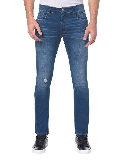Calça Jeans Sculpted Ckj 026 Slim - Azul Médio