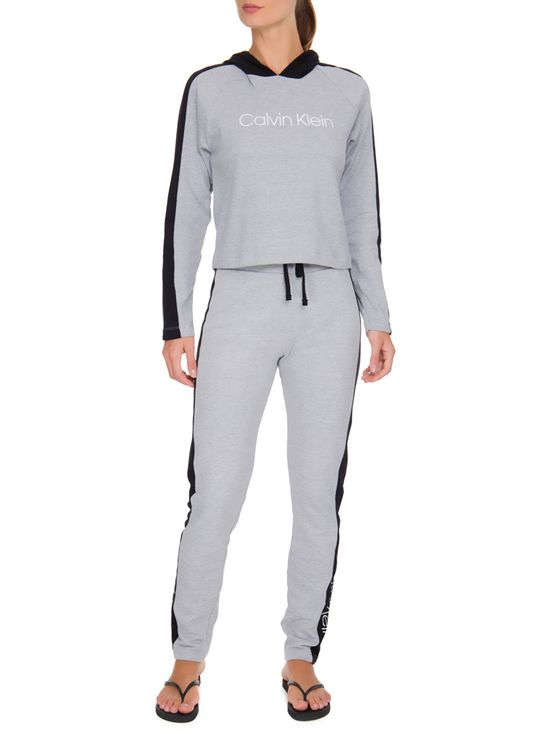 5bb8269ed2ab5 Blusa Feminina Moletom C/ Capuz - Mescla | Calvin Klein - Calvin Klein