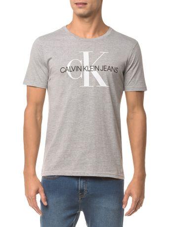5d5f26b163cb1e Camiseta Ckj Mc Est Peito E Manga Branco 2 - Branco 2 | Calvin Klein ...