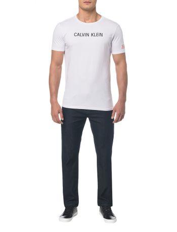 1644efb6e3 Camiseta-Ckj-Mc-Est-Peito-E-Manga-Branco-