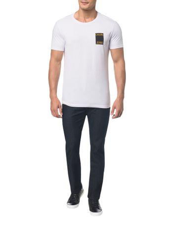 Camiseta-Ckj-Mc-Est-Calvin-Jeans-Peito----Branco-2---P