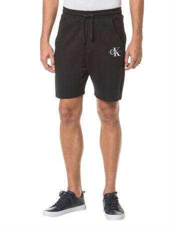 Bermuda-Ckj-Moletom-Est-Logo-Ck---Preto---P