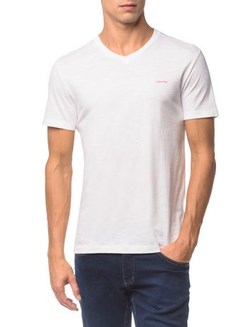 Camiseta-Flame-Slim-Calvin-Klein---Branco-2---P