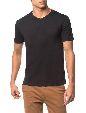 Camiseta-Flame-Slim-Calvin-Klein---Preto---PP