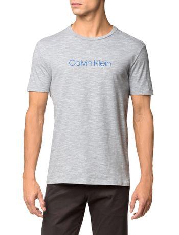 Camiseta-Regular-Basica-Flame-Mescla---Azul-Claro---PP