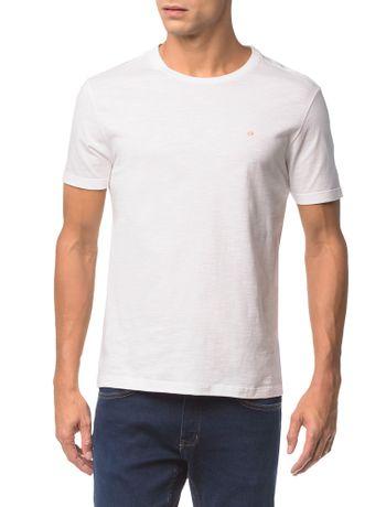 Camiseta-Slim-Careca-Flame-Calvin-Klein---Branco-2---PP