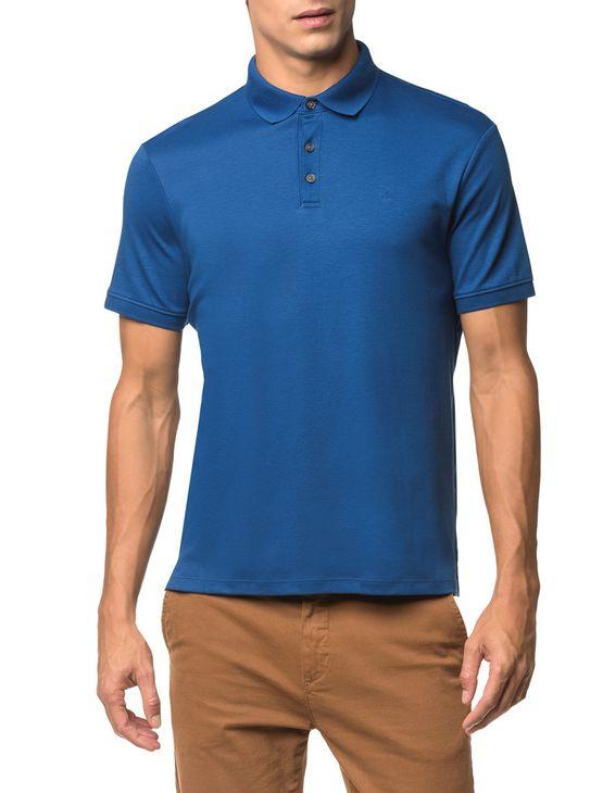 Polo-Basica-Liquid-Cotton---Azul-Medio---PP