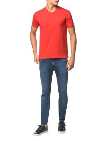 Camiseta-Flame-Slim-Calvin-Klein---Vermelho---M