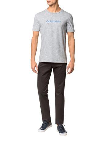 Camiseta-Regular-Basica-Flame-Mescla---Azul-Claro---P