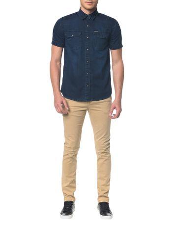 Camisa-Jeans-Manga-Curta