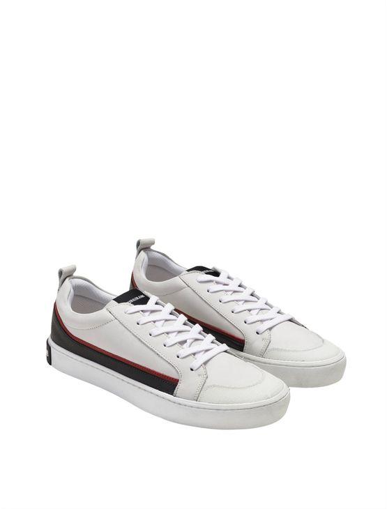 Tenis-Ckj-Masc-Couro-Low-Skate-Sneaker-----Branco-2----44