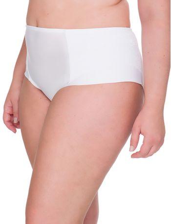 f51631e6ab4ee9 Calcinha Lateral Dupla Plus Size - Branco 2 - Calvin Klein