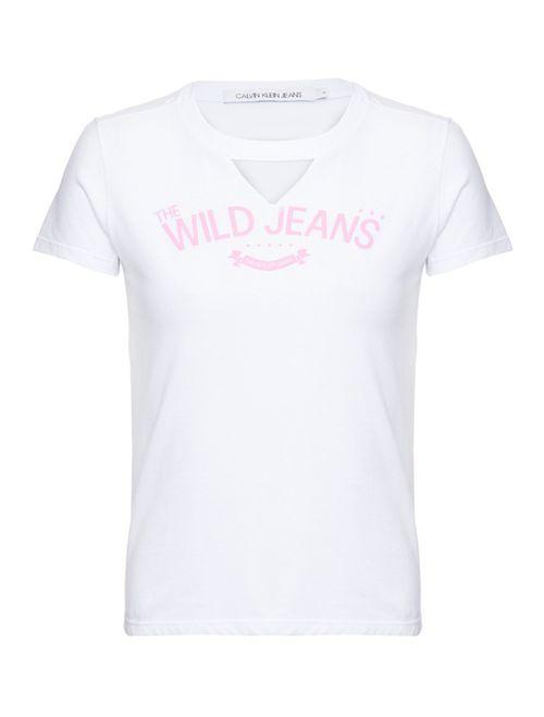 Blusa M/C Ckj Wild Jeans - Branco 2