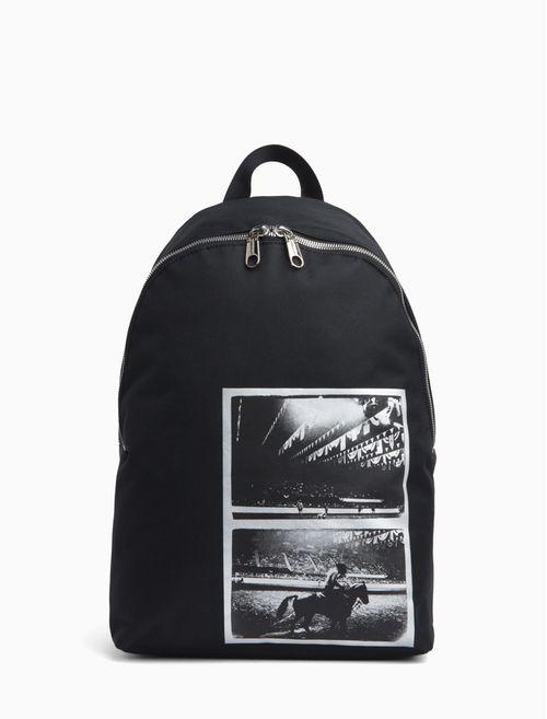 Mochila Ckj Foil Andy Warhol Rodeo - Preto