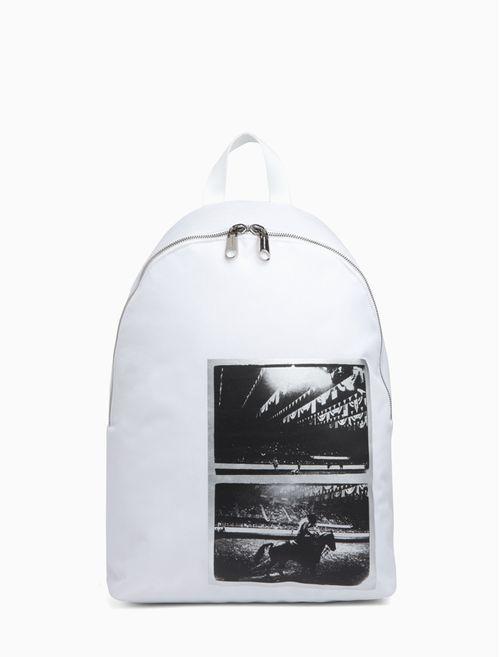 Mochila Ckj Foil Andy Warhol Rodeo - Branco 2