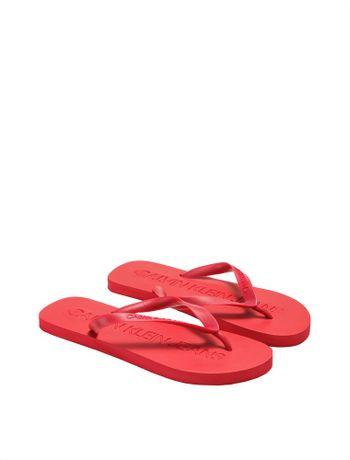 Chinelo-Ckj-Masc-Logo-Baixo-Relevo---Vermelho-